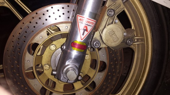 1980 Ducati 500SL Race Bike Front Brake