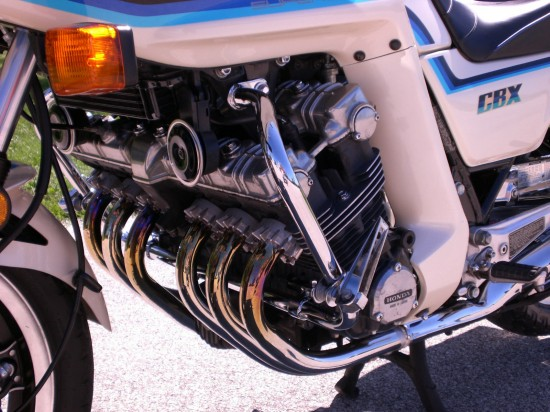 1982 Honda CBX L Engine