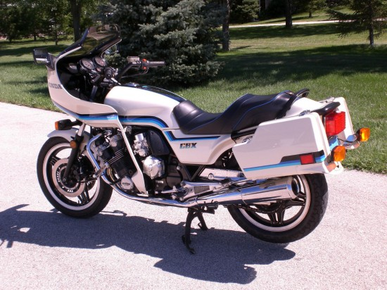1982 Honda CBX L Rear