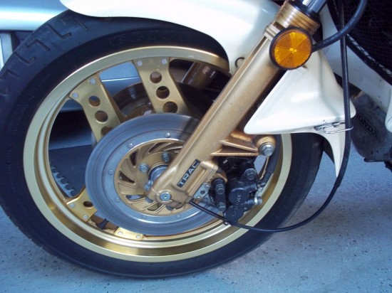 1982 Honda CX500 Turbo L Front Wheel