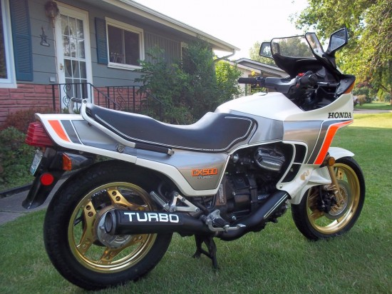 1982 Honda CX500 Turbo R Rear