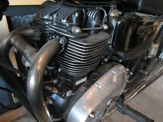 1983 Triumph Bonneville TSS Engine