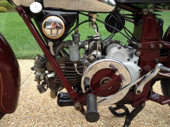 1937Moto Guzzi PE238 L Side Engine
