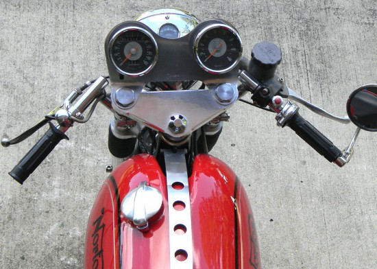 1966 Norton Atlas Cafe Dash