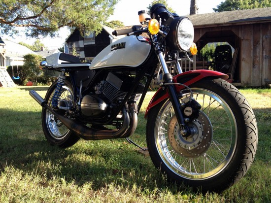 1973 Yamaha RD350 R Front
