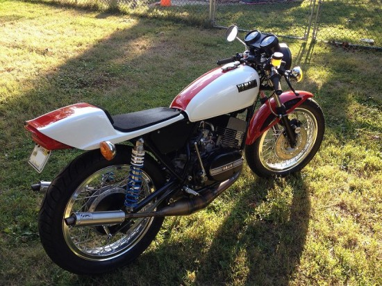 1973 Yamaha RD350 R Rear