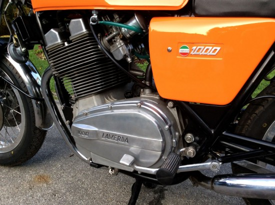 1975 Laverda 3C L Side Engine