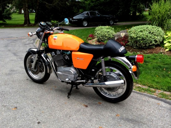 1975 Laverda 3C L Side Rear