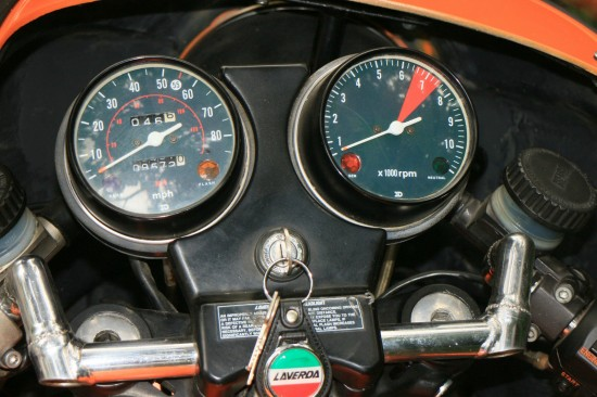 1982 Laverda Jota Clocks