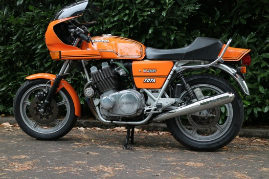 1982 Laverda Jota L Side