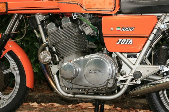 1982 Laverda Jota L Side Engine