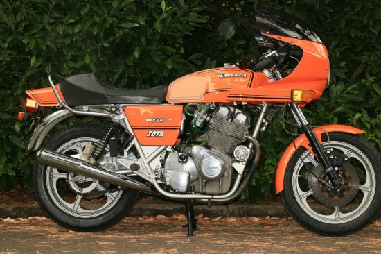 1982 Laverda Jota R Side