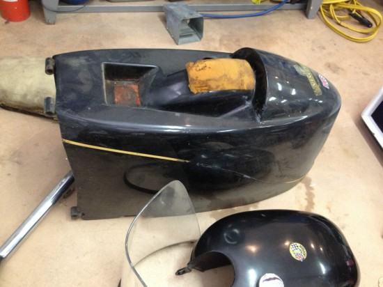 1955 Vincent Black Prince Project Bodywork 1