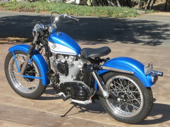 1960 Harley Sportster L Side Rear