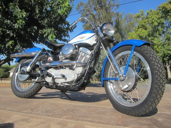 1960 Harley Sportster R Front