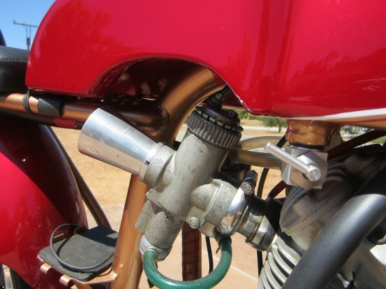 1964 Ducati 250 Race Bike Carb