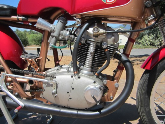 1964 Ducati 250 Race Bike R Side Engine