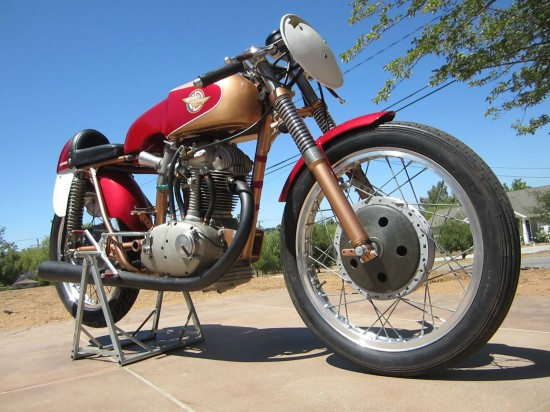 1964 Ducati 250 Race Bike R Side Low