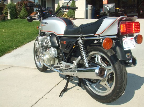 1979 Honda CBX L Side Rear