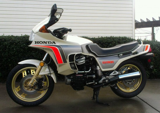 1982 Honda CX500 Turbo L Side