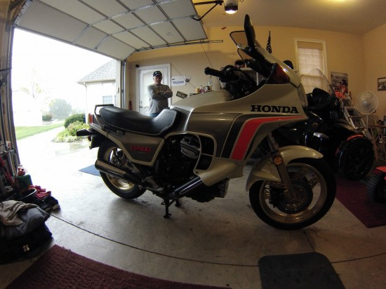 1982 Honda CX500 Turbo R Side Fisheye