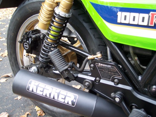 1983 Kawasaki KZ1000 ELR Rear Suspension