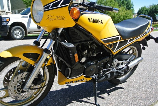 1985 Yamaha RZ350 L Side Front