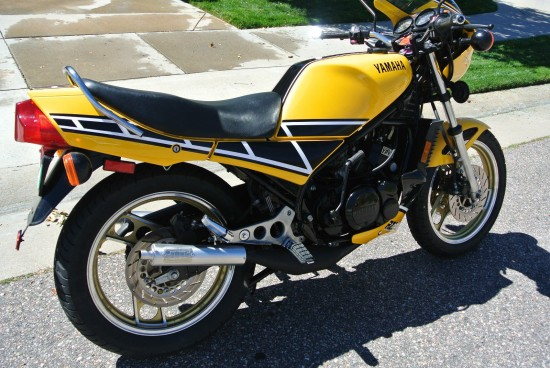 1985 Yamaha RZ350 R Rear