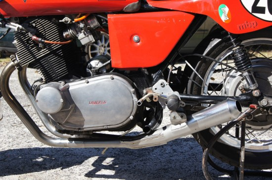 1974 Laverda 750SF Race Bike L Engine Detail