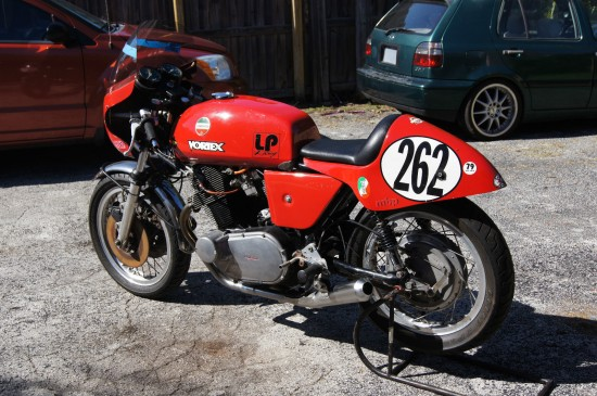 1974 Laverda 750SF Race Bike L Rear