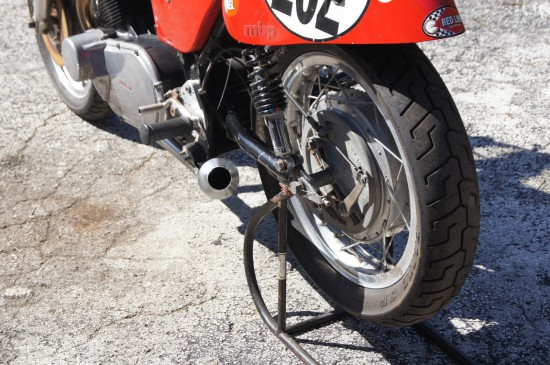 1974 Laverda 750SF Race Bike L Rear Wheel
