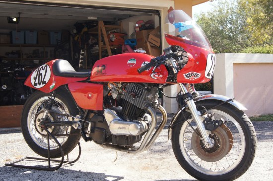 1974 Laverda 750SF Race Bike R Front