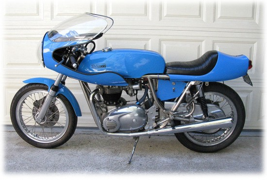 1975 Rickman Metisse 650CR L Side