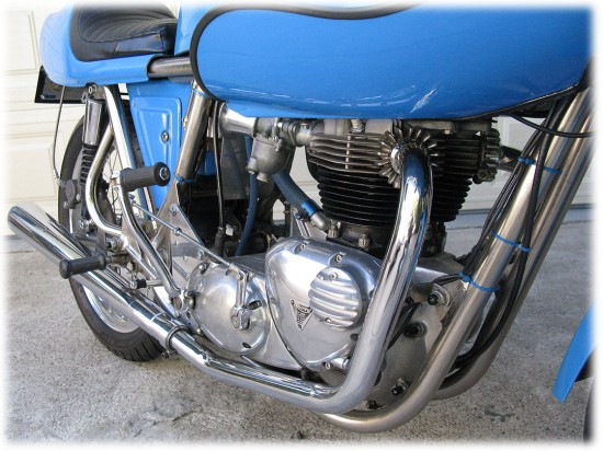 1975 Rickman Metisse 650CR R Engine Detail