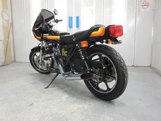 1979 Kawasaki Z1R TC Turbo L Side Rear