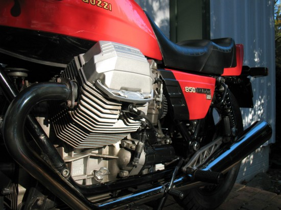 1984 Moto Guzzi LeMans III L Engine Detail