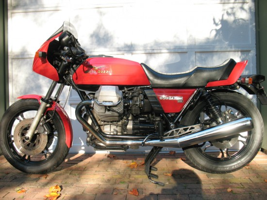 1984 Moto Guzzi LeMans III L Side