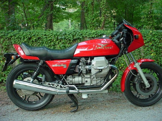 1984 Moto Guzzi LeMans III R Side