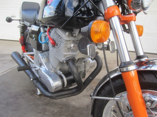1974 Laverda SF2 L Front Engine