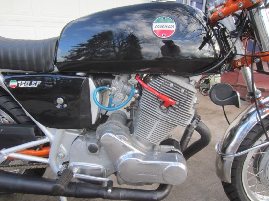 1974 Laverda SF2 R Side Engine