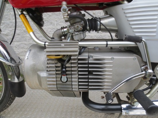 1975 Hercules W2000 Engine Detail