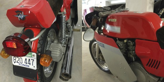 1978 MV Agusta 750S America Rear Final