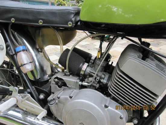 1969 Suzuki T250 Engine Detail