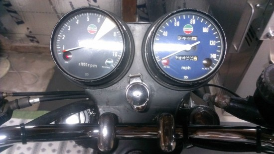 1975 Laverda 750SF Dash