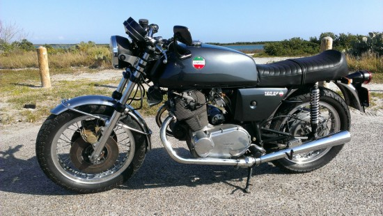 1975 Laverda 750SF L Side