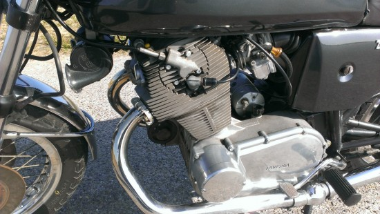 1975 Laverda 750SF L Side Engine