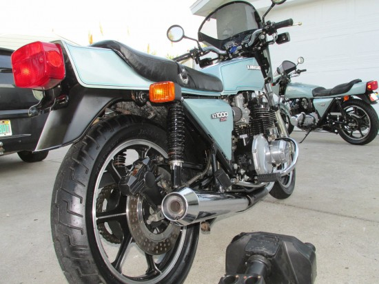 1978 Kawasaki Z1R R Side Rear