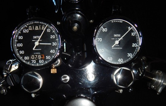 1954 BSA Gold Star Clocks