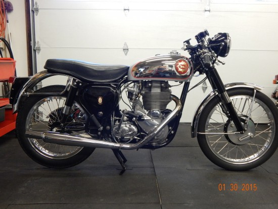 1954 BSA Gold Star R Side