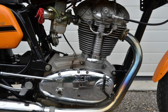 1971 Ducati 450 Mk3 Desmo R Side Engine